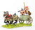 BS110 Sea Peoples: 2 Horse Chariot with driver & two javelinmen