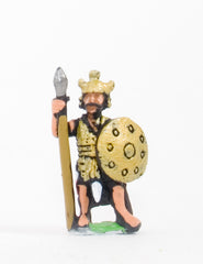 BS111 Sea Peoples: Sherden Heavy Infantry with javelin, two handed sword & shield