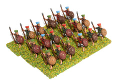 BS114 Sea Peoples: Pelset Heavy Infantry with javelin, two handed sword & shield