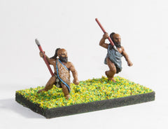BS130 Libu: Javelinmen / Spearmen, assorted