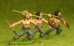 BT13 Assorted Javelinmen / Spearmen attacking / throwing, with Small Shields