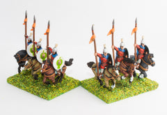 BZA5 Byzantine: Trapezitoi Light Cavalry with lance & shield