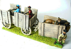C&W8 Eastern European two horse War Wagon with protection for crew & horses