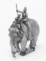 CHOE14 Shang or Chou Chinese: Elephant with driver and javelinman