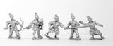 CHO18 Generic Chinese Infantry: Hordes or peasants, assorted & improvised weapons