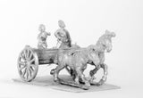 CHO19 Chinese Barbarians: Two horse Light Chariot with driver and archer