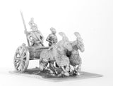 CHO6 Shang or Chou Chinese: Two horse Heavy Chariot with driver, archer and spearman
