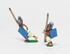 CHO8 Shang or Chou Chinese: Heavy / Medium Spearmen advancing