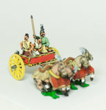 CHOE6a Shang or Chou Chinese: Four horse Heavy Chariot with driver, archer and spearmen