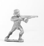 CO12 Sudanese: Tribesman firing Rifle
