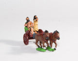 CPA1 Caledonian & Pictish: Two horse Chariot with General & driver