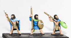 CPA5 Caledonian & Pictish: Warband Infantry with javelin & shield