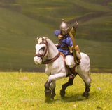CR13 Crusades: Cuman Heavy Cavalry with Lance & Shield, firing Bow