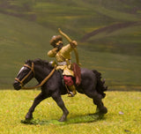 CR21 Crusades: Turcomans Cavalry, with Javelins & Shield, firing Bow