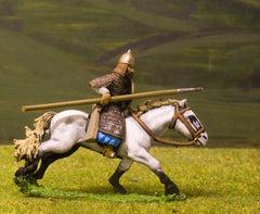 CR26 Crusades: Khwarisminian Heavy / Extra Heavy Cavalry with Lance, Bow & Shield