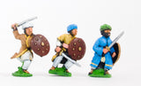 CRU10 Arab swordsmen with round shield, assorted poses