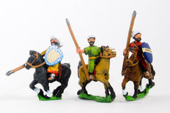 CRU18 Arab light cavalry, heart shield, assorted poses
