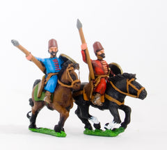 CRU24 Turkoman horse archers with javelin, assorted poses