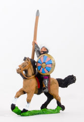 CRU1 Arab cavalry in chainmail & turban with spear & round shield