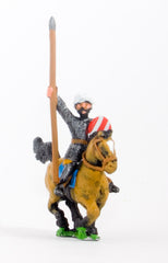 CRU2 Arab cavalry in chainmail & turban with spear & kite shield