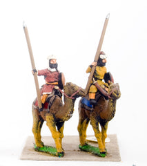CRU48 Assorted Arab Camel Riders with Spear and Shield