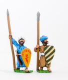CRU6 Arab spearmen with kite shields, assorted poses