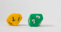 DICE: Pair of 10 sided dice (D10)