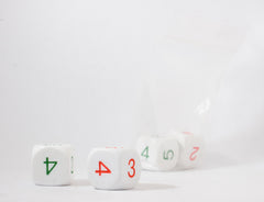 DICE: Pair of Average dice (2-5)