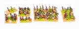 15mm Pre-Painted Anglo-Saxon 617-700AD DBA Army #PDBA4
