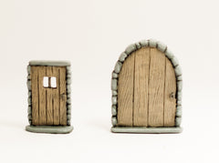 DDE9 Pair or Doors: One Large, One Small