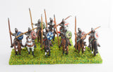 DGS1 Dark Age: Heavy Cavalry in mail with lance and round shield
