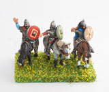 DGS2 Dark Age: Heavy Cavalry ibn mail with assorted weapons & round shield