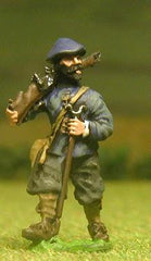 ECW14 Scots Covenanters: Musketeer advancing (assorted heads)