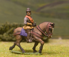 ECW1a New Model Army: Heavy Cavalry Officer in Lobster Pot