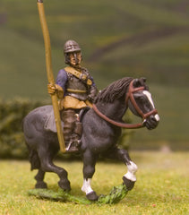 ECW1b New Model Army: Heavy Cavalry Standard Bearer in Lobster Pot