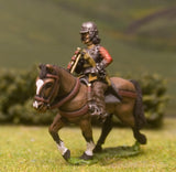 ECW1c New Model Army: Heavy Cavalry Trumpeter in Lobster Pot