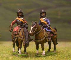 ECW23Royalist: Heavy Cavalry (assorted heads)