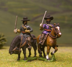 ECW24 Royalist: Medium Cavalry (assorted heads)