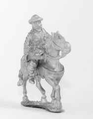 ECW37 Scots Royalist: Horseman with Pistol & Sword
