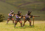 ECW6 New Model Army: Musketeer firing (assorted heads)