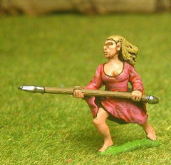 FAN110 Wood Elf: Females with Spears (3 variants per pack)