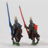 EMED12 Polish 1350-1480: Mounted Knights, 1380-1440AD in Jupon & Helmets