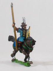 EMED21 Polish 1350-1480: Serbian Hussar in Long Coat with Lance & Shield