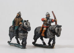 EMED26a Russian 1300-1500: Heavy Cavalry with Bow, on Armoured Horse (Mail)