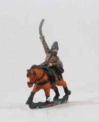 EMED37 Hungarian 1300-1450: Horse Archer holding Sword, in Fur Cap