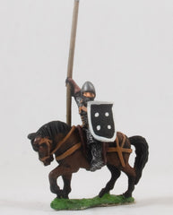 EMED64 Serbian Empire: Knights 1300-1400AD in Mail with Lance & Shield, on Unarmoured Horse