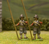 EU1 European Armies: Pikeman at ease, assorted heads