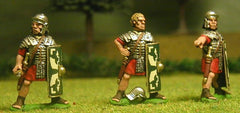 EXR23a Legionaries in Segmenta Armour & Plain Helmet