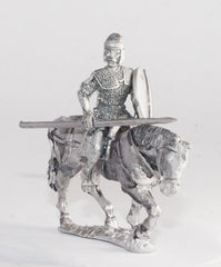 EXR28a Auxiliary Cavalry in Mail with Engraved Helmet & Round Shield
