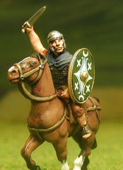 EXR29 Cavalry Officer in Plain Helmet